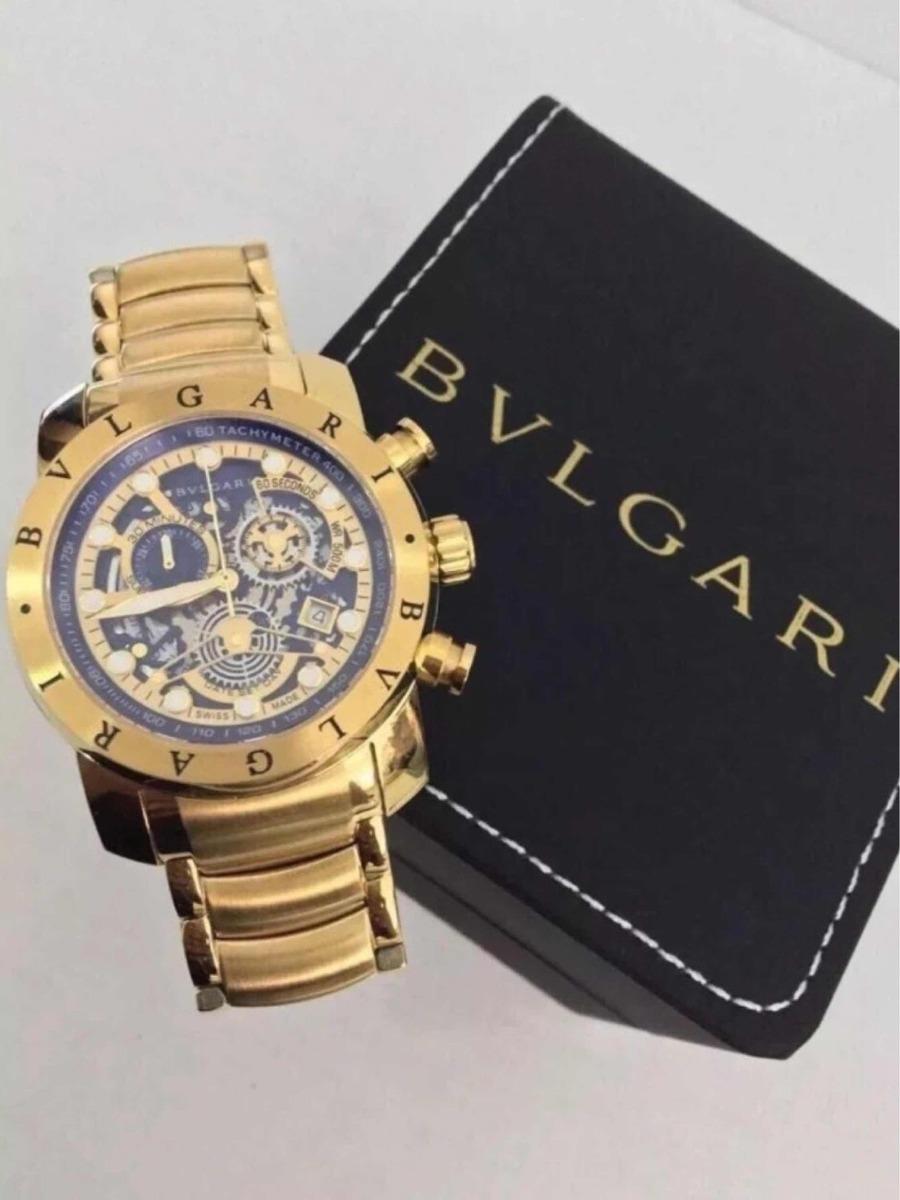 abde676aa4d relógio bvlgari subaqua skeleton dourado prata liquidação!!! Carregando zoom .