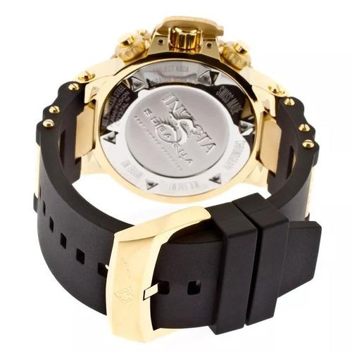 relógio c00268 invicta 5514 subaqua noma ii preto original
