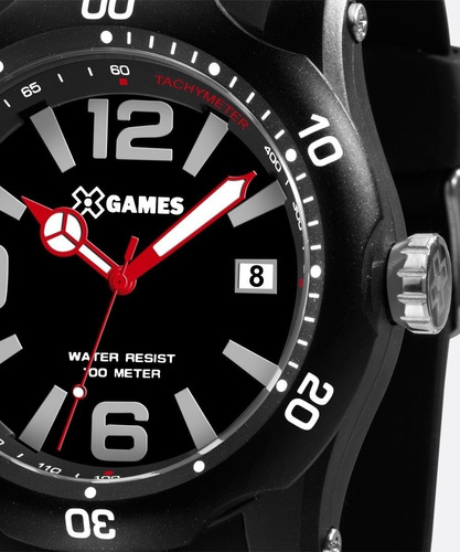 relógio calendário data xtyle xgames orient xmpp104 original