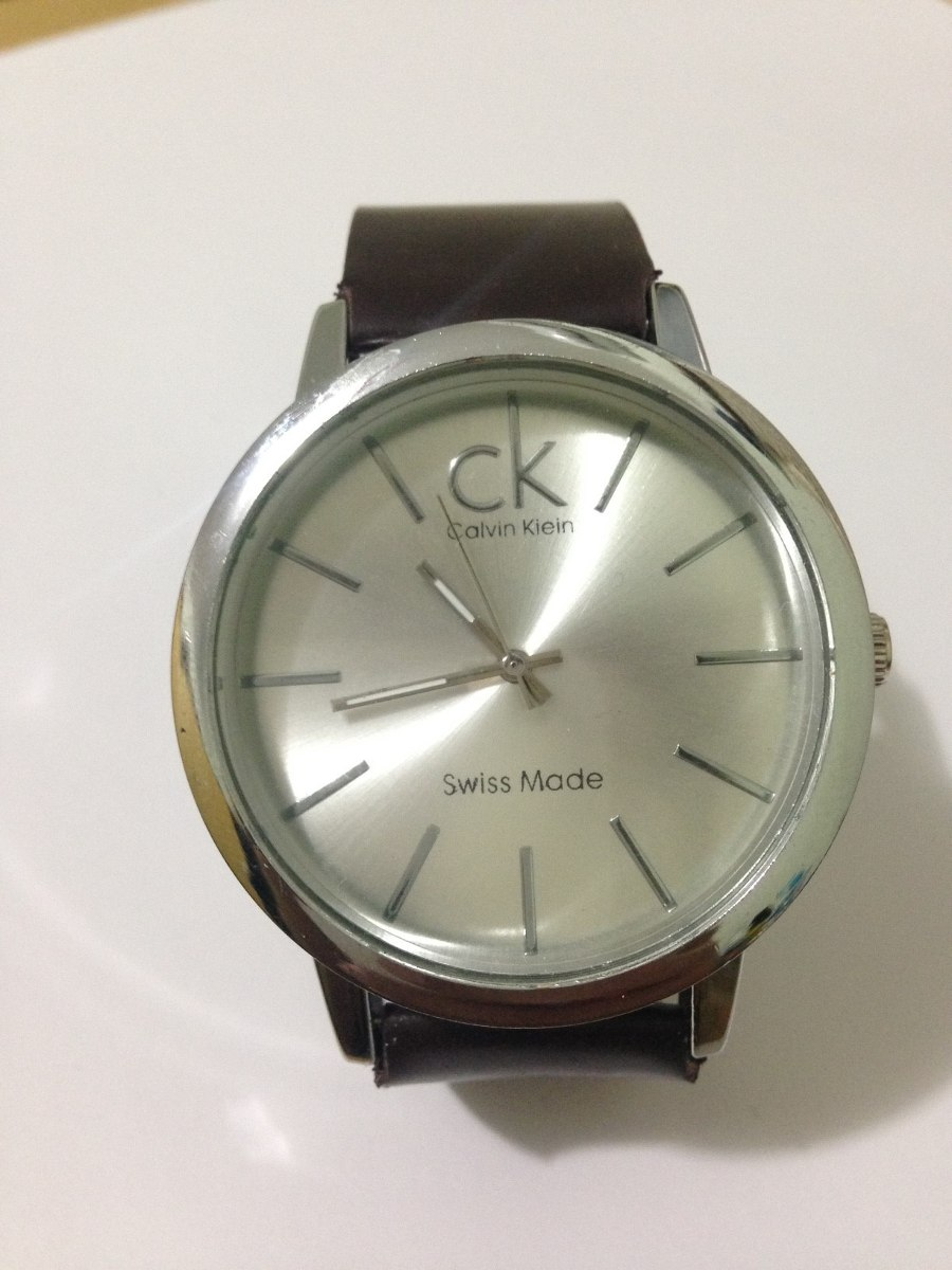 Relógio Calvin Klein Masculino Casual + Frete Grátis - R  79,90 em ... 28eafb540c