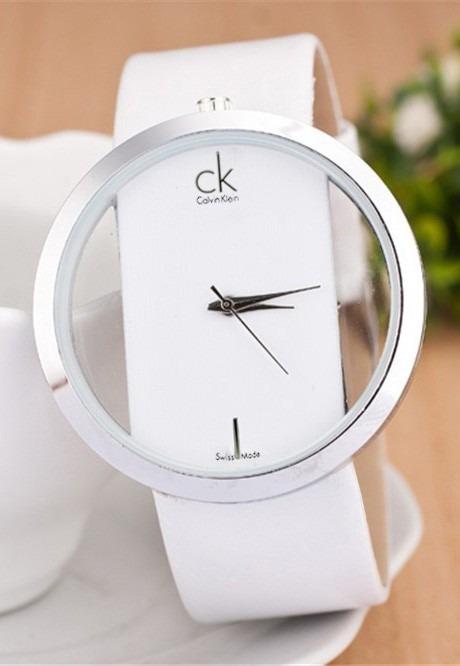 3846c46d9de Relógio Calvin Klein Réplica Do Modelo K9423101 Coleção Glam - R  59 ...