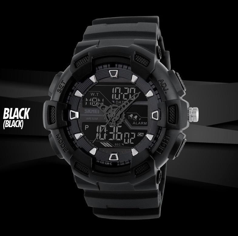 4a53056e385 Relógio Camuflado Masculino Digital Shock Militar Esportivo - R  120 ...