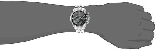 relógio caravelle by bulova masculino calendário - ny 43a133