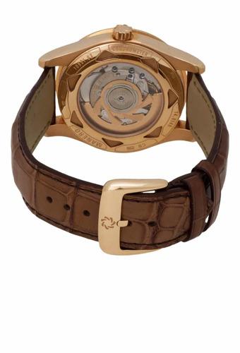 relógio carl f. bucherer manero 18k r/g retrograde original