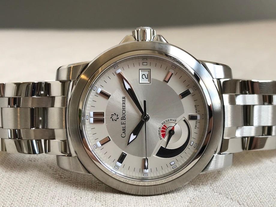 52c62b94176 relógio carl f. bucherer patravi power reserve automatic. Carregando zoom.
