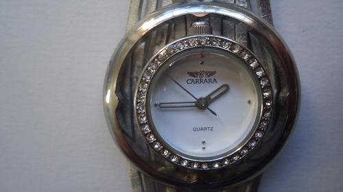 relógio carrara luxo quartz feminino