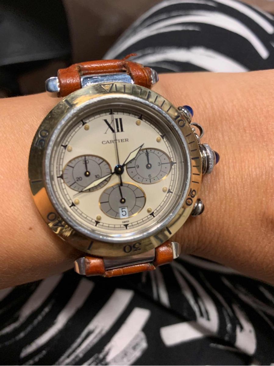 ed0cde7bce6 Relógio Cartier Pachá Original - R  9.500