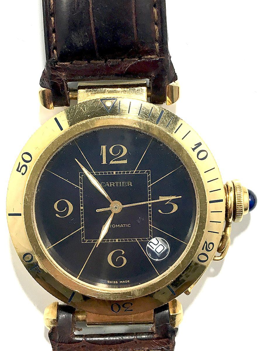 09370e32933 relógio cartier pasha ouro 18k. Carregando zoom.