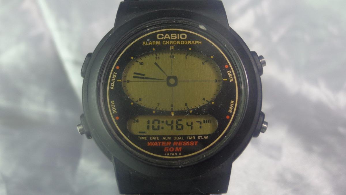 6618687c410 relógio casio a e - 30 w módulo 894 garantia relogiodovovô. Carregando zoom.