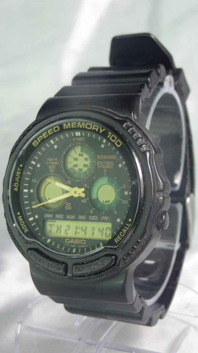 84a1b0a29ba relógio casio a w - 20 384 100 speed memory relogiodovovô. Carregando zoom.