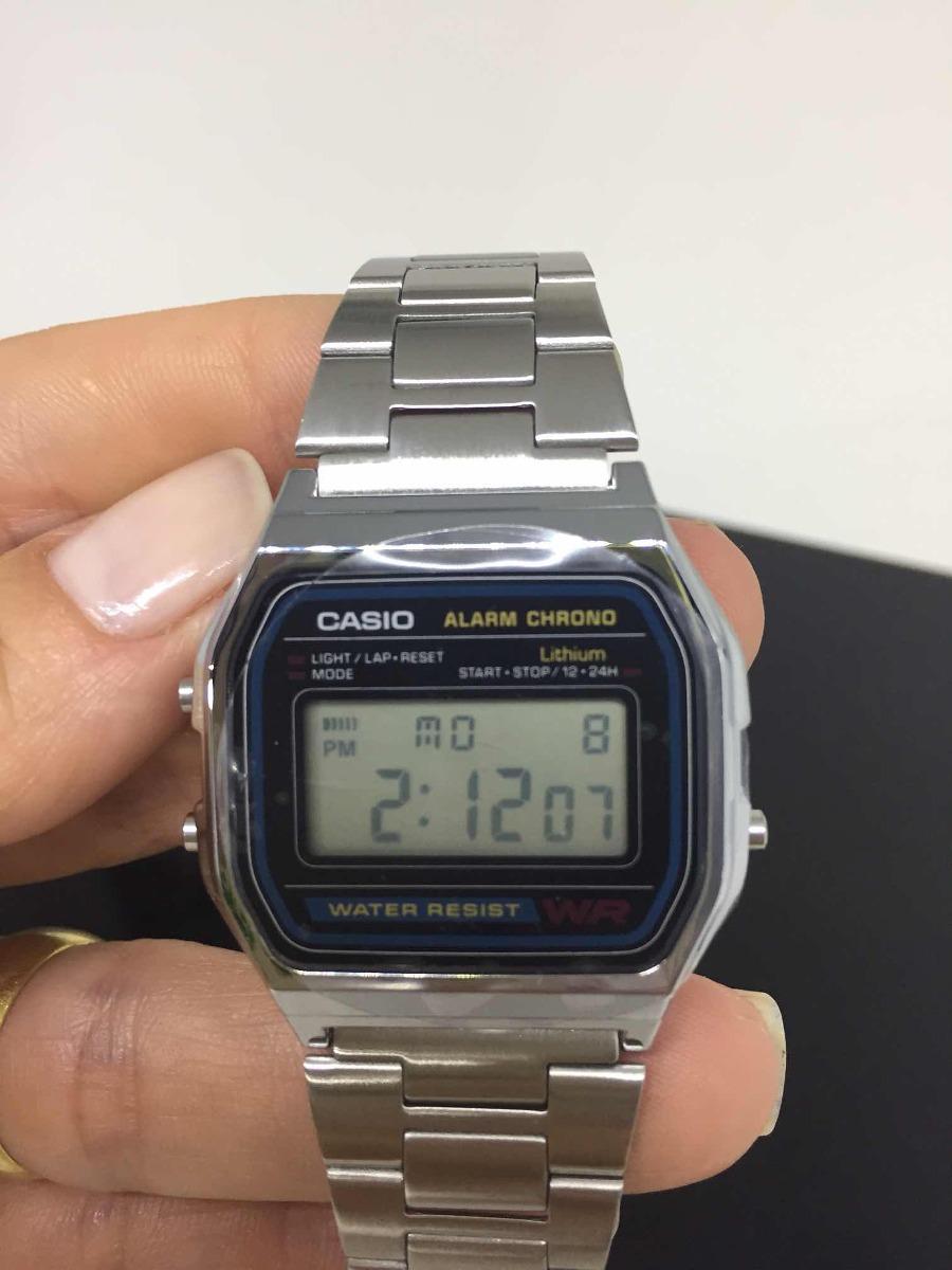 66e07f00e66 relógio casio a158w retro vintage unissex a158w. Carregando zoom.