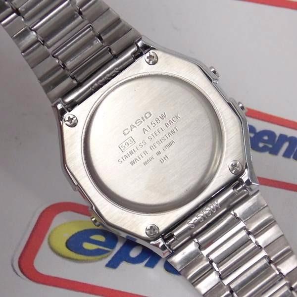 30e4eacbdeb Relogio Casio A158wa-1df - 100% Original - 1 Ano De Garantia - R ...