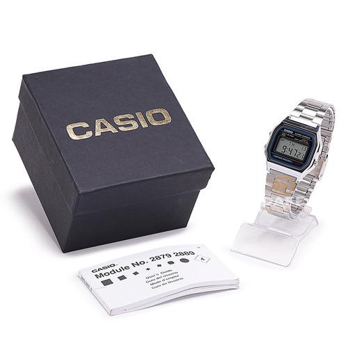 relógio casio a158wa unissex original retrô c/caixa e nf