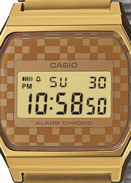49a9b5908a7 Relogio Casio A159 Dourado Retrô Vintage Unisex A168-158 - R ...