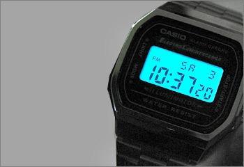 7d47c858236 Relógio Casio A168 Wa-1 Cronômetro Alarme Dual Time Wr Prata - R ...