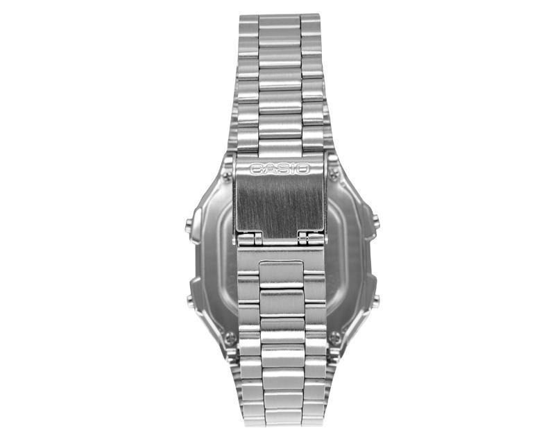 6425374861f relógio casio a178wa-1adf data bank prata original. Carregando zoom.