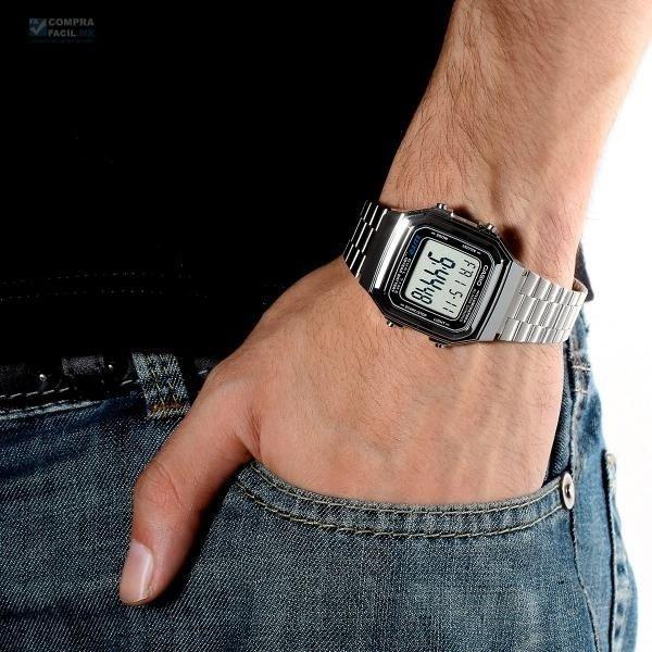 009b5b95212d8 Relógio Casio A178wa-1adf Data Bank Prata Original - R  120,00 em ...