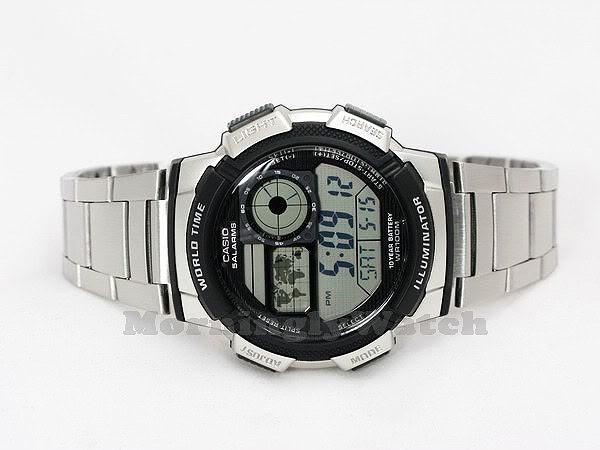 6c2317aacbf Relógio Casio Ae-1000 Wd Ae-1200 Whd Horario Mundial - R  169