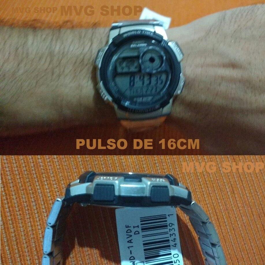 4e42fcfcf47 relógio casio ae-1000 wd ae-1200 whd horario mundial ae1000. Carregando  zoom.