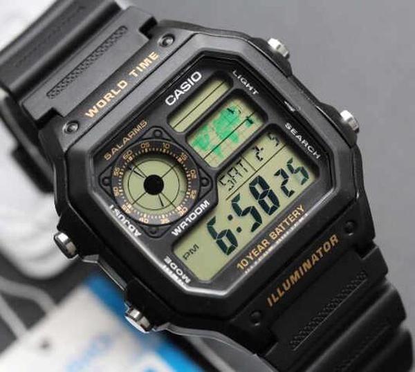 a1e7af9b840 Relógio Casio Ae 1200w-1avdf