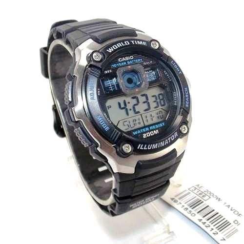 e1dd932120a Relógio Casio Ae-2000w-1avdf Masculino Digital Prova Dágua - R  226 ...