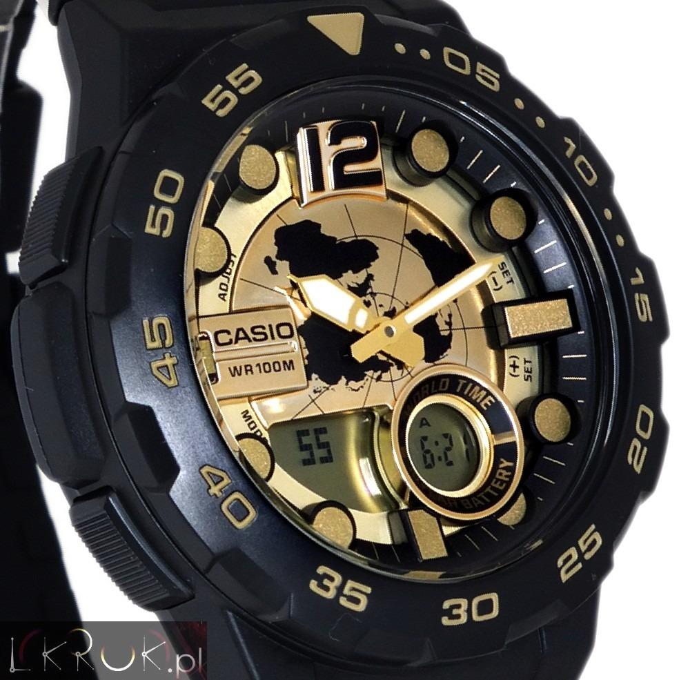 25dda15f54d Relogio Casio Aeq-100bw-9 Telemem30 3alarm Crono Timer Wr100 - R ...