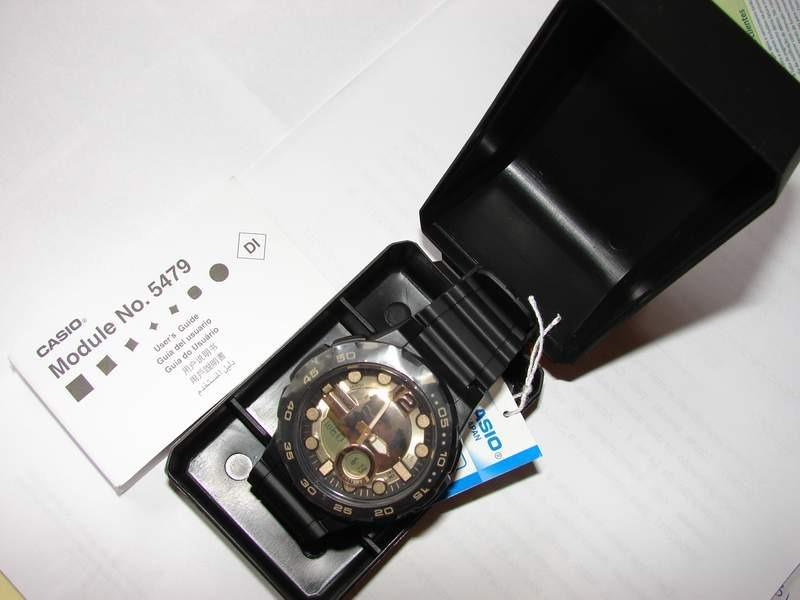 aaeeb7b274d Relogio Casio Aeq-100bw-9 Telememo30 3alarm Crono Time À Vis - R ...