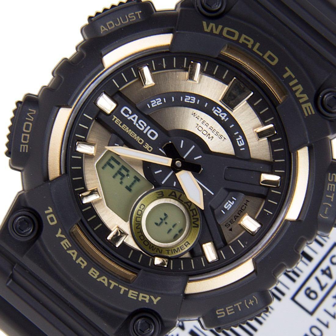 b10833bf69d relógio casio aeq-110bw-9av- hora mundial - bateria 10 anos. Carregando  zoom.