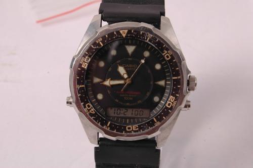 relógio casio alarm-chronograph (animalão) relogiodovovô