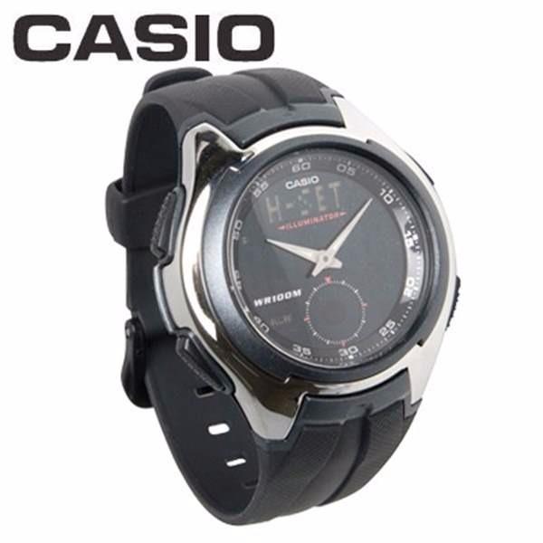 c2c8c1edc04 Relogio Casio Anadigi Aq-160w 5alarmes Iluminator Wr100 - R  229