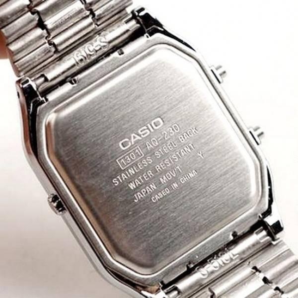 995a426d14d Relogio Casio Anadigi Aq-230a 7b 100% Original 1ano Garantia - R ...