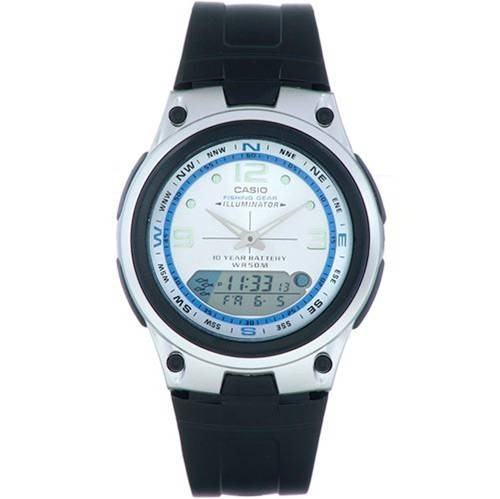 bc5eb40375b Relogio Casio Anadigi Fases Da Lua - 3 Alarmes Timer Pesca - R  169 ...