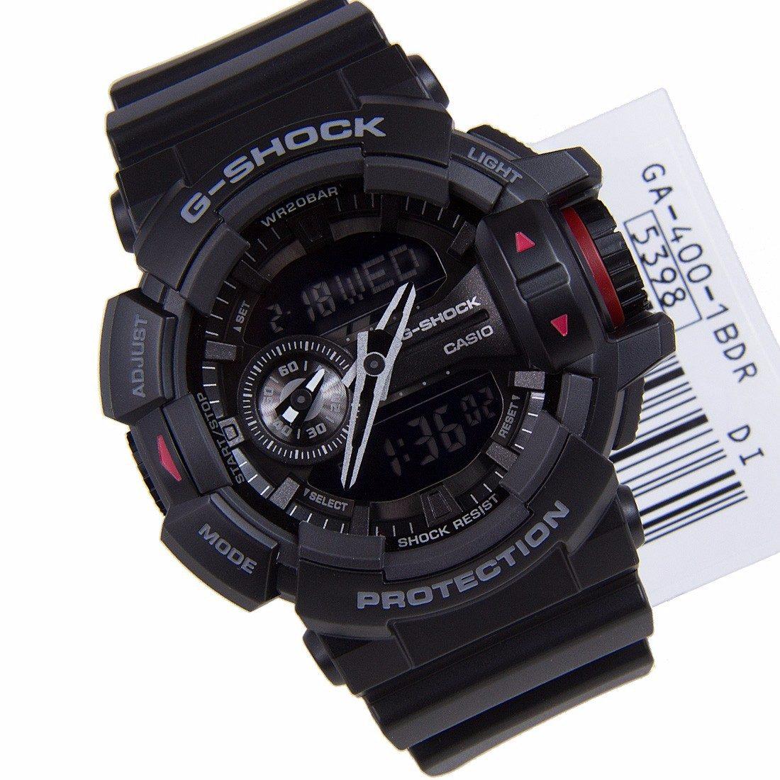 8e7d4ac3bb7 relógio casio anadigi ga-400 g-shock todo preto original. Carregando zoom.