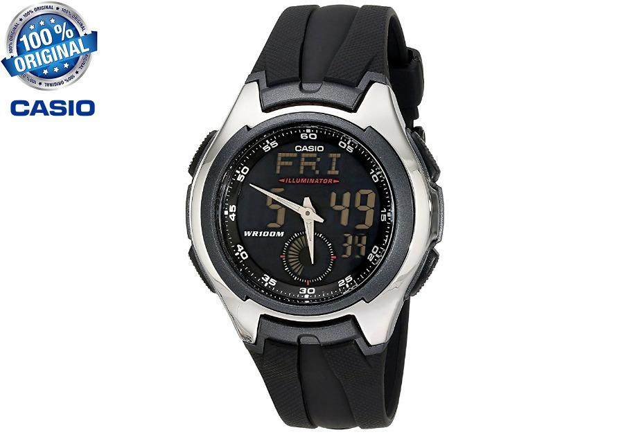 30ab132b218 relógio casio analógico digital aq 160w 1bv. Carregando zoom.