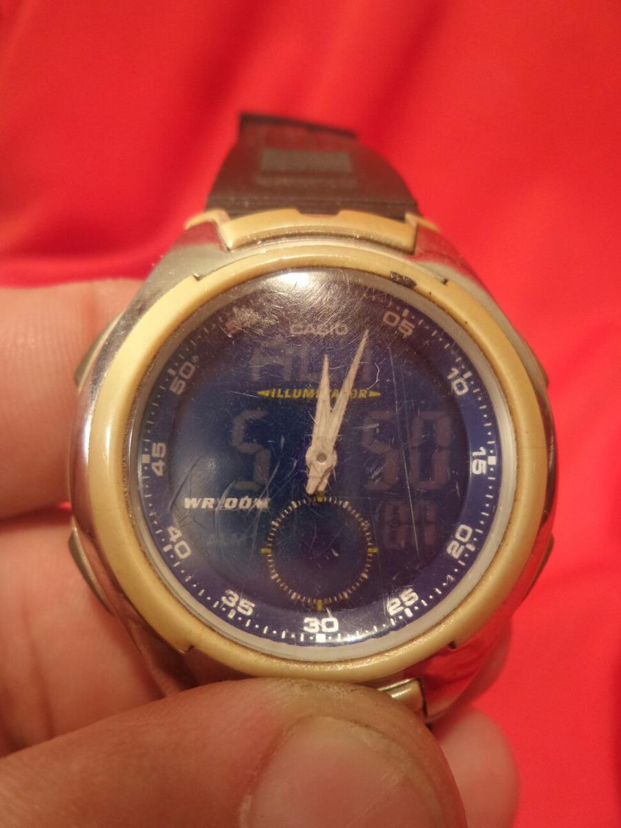 40afee2ada3 relógio casio aq-160 - máquina do tempo. Carregando zoom.