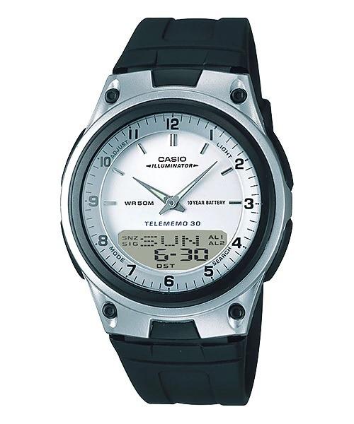 4e5cc18df78 Relogio Casio Aw 80-7 Wr50m Telememo 30 3alarm Crono Timer - R ...