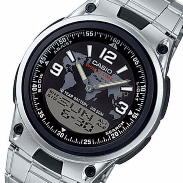848ecd6d2fe Relogio Casio Aw-80d-1a2 Map Databank30 50m 3al Certificado - R  139 ...