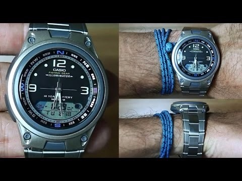 0d8675cd5ba Relógio Casio Aw-82 D Fishing Gear Pesca Fases Lua Alarmes P - R ...