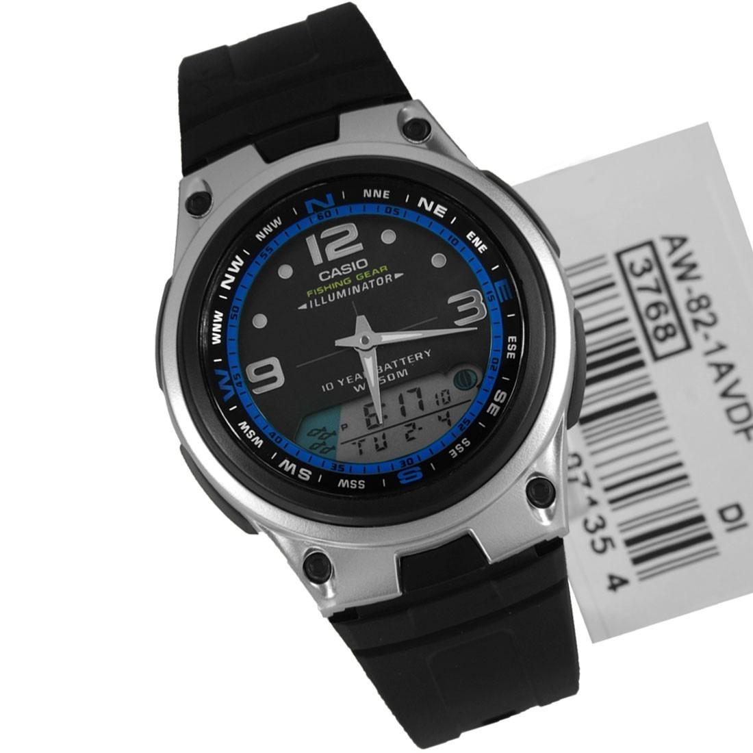 0321cec5ba3 relogio casio aw-82 fishing gear - digital analógico. Carregando zoom.