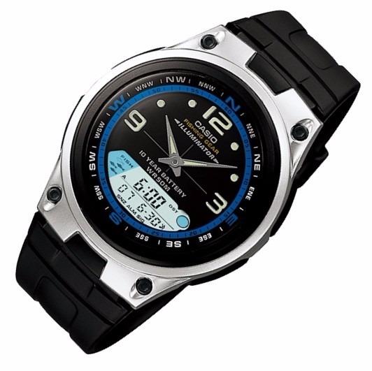 f76fa26a1db Relógio Casio Aw-82 Fishing Gear Pesca Fases Lua 3 Alarmes P - R ...