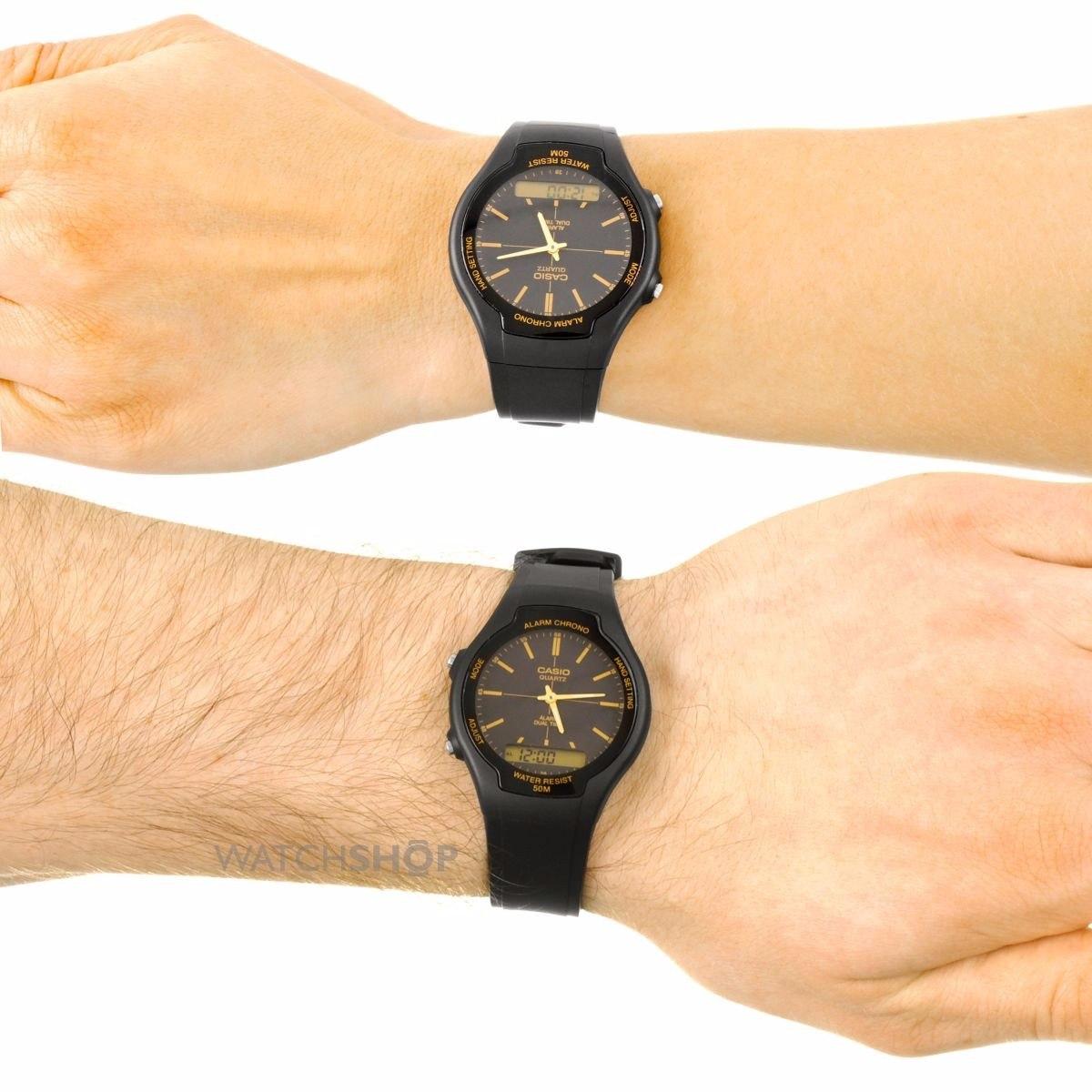 b051fe41a7a relogio casio aw-90h-9evdf ana-digi alarme cronometro aw-90. Carregando  zoom.