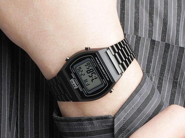 0fb0a2d0657 Relógio Casio B640wb 1adf Preto Retro Vintage Original Nf - R  369 ...