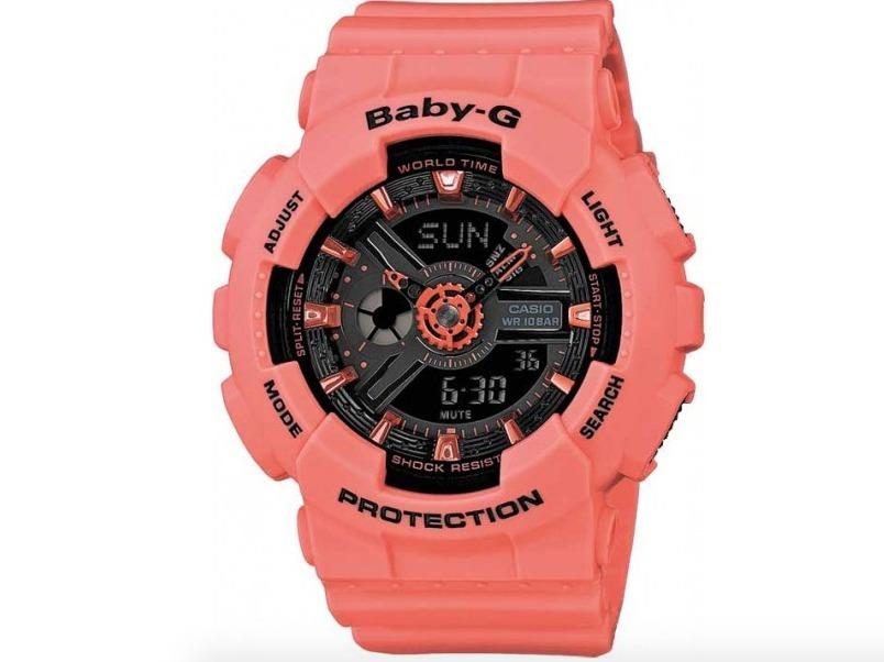 7643ce298eb0f Relogio Casio Baby-g Ba-111-4a2 Ba111 Feminino Original - R  598,00 em  Mercado Livre