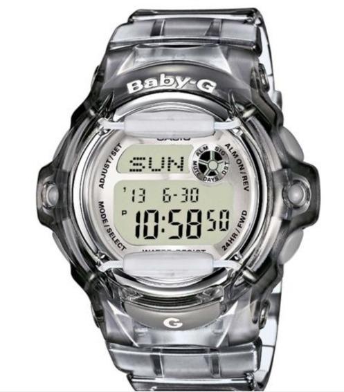 86a6e88d48a Relógio Casio Baby-g Cinza Bg-169r-8dr - R  599