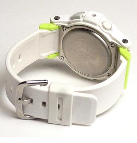 afff2b23719 Relógio Casio Baby-g G-shock Bga-180-7b2 Branco G-lide Marés - R ...