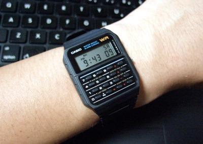 097680dc2a0 Relógio Casio Ca-53 W Calculadora Alarme Ca5 Nota Fiscal - R  199