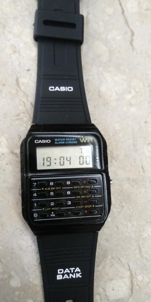 50011856391 relogio casio calculadora ca 53w (antigo) nao é o moderno! Carregando zoom.