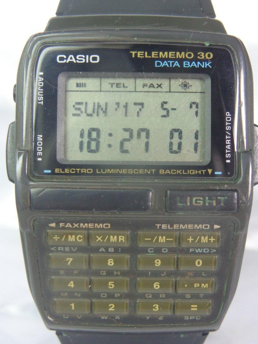 2160b926b16 relógio casio calculadora tele memo 30 gar. relogiodovovô. Carregando zoom.