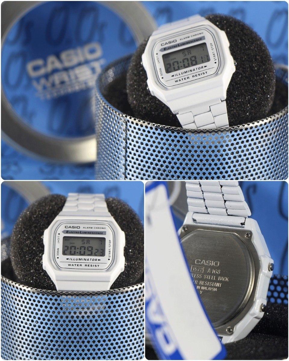 e6a5b251b78 relógio casio cor branca vintage retro super oferta! Carregando zoom.