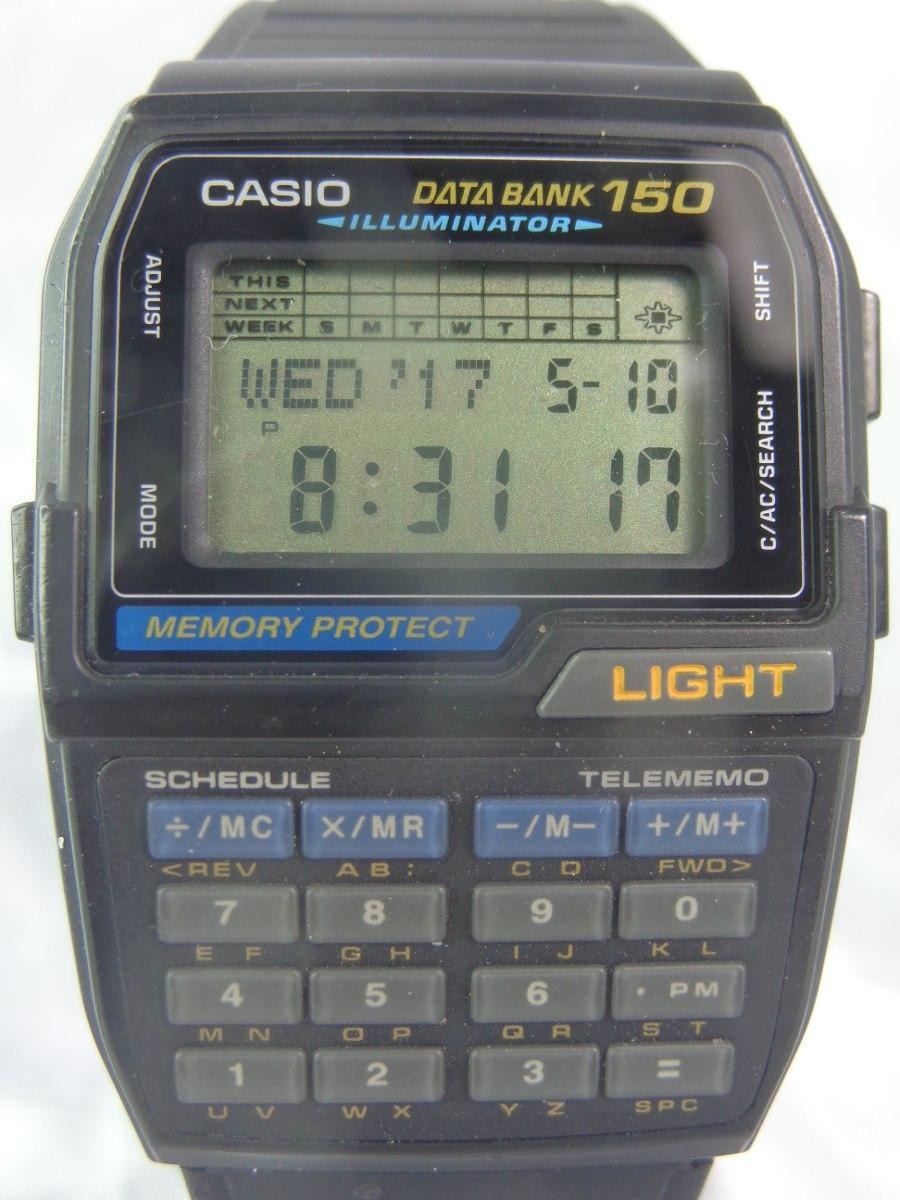 a591ef0a931 relógio casio d b c 150 módulo 1477 de 1996 relogiodovovô. Carregando zoom.